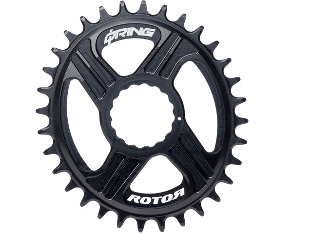 Rotor REX Direct Mount Q-Ring Kettenblatt 1x11 schwarz